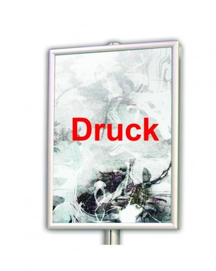 Druck für Plakat- und Prospektständer Stele