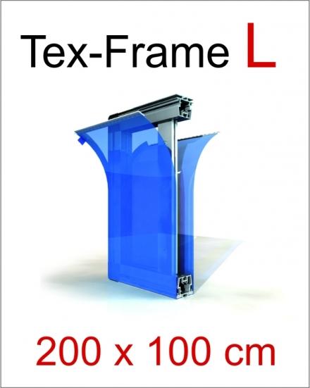 Tex-Frame L 200 x 100cm doppelseitig