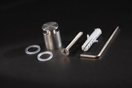 Abstandshalter Edelstahl D=15mm - 2,93 €