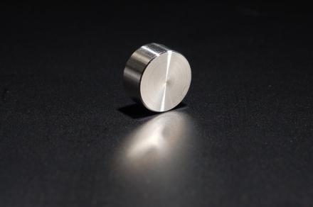 Zierkappe flach Edelstahl D=10mm - 2,65 €
