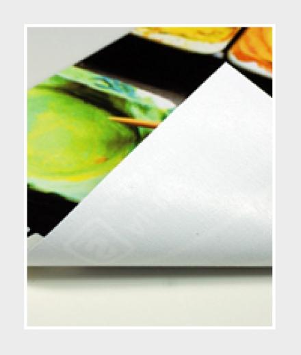 textile Werbeplane Airtex