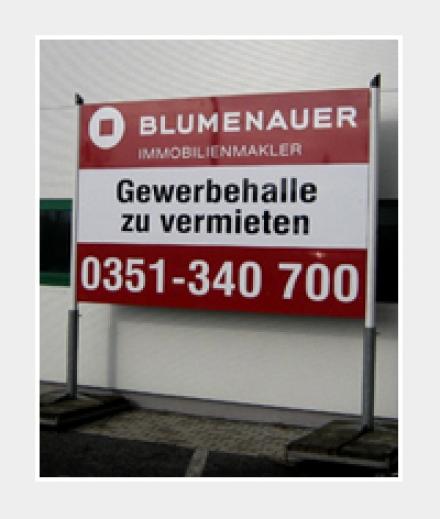Alu-Verbund-Schild