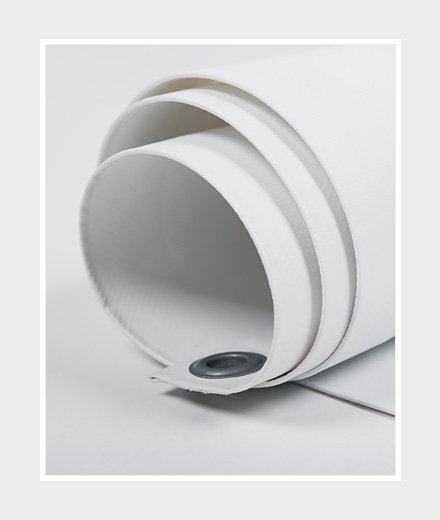 PVC-Werbeplane Standard