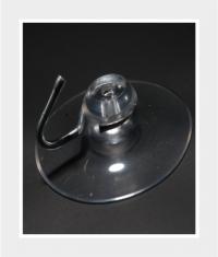 Saugnapf mit Haken D=40mm - 1,39 €
