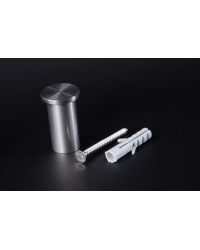 Kleiderhaken Handtuchhalter Edelstahl D=15mm - 3,40 €