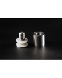 Glashalter schraubbar Edelstahl D=15mm - 3,27 €