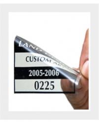 Sticker transparent