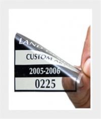 Sticker ohne Kleber - Adhäsionssticker