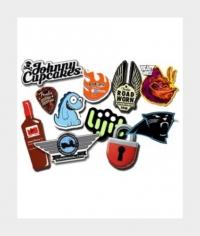 Freiform-Sticker
