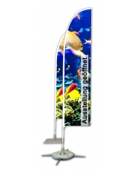 Beachflag Gerade