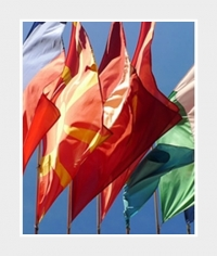 Querformat-Fahne 250x150cm