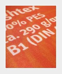 textile Werbeplane Lightex